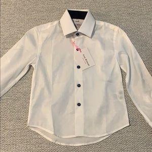 Isaac Mizrahi, Boys Dress Shirt, Size 2/3, NWT